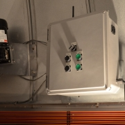 Upper dome control unit